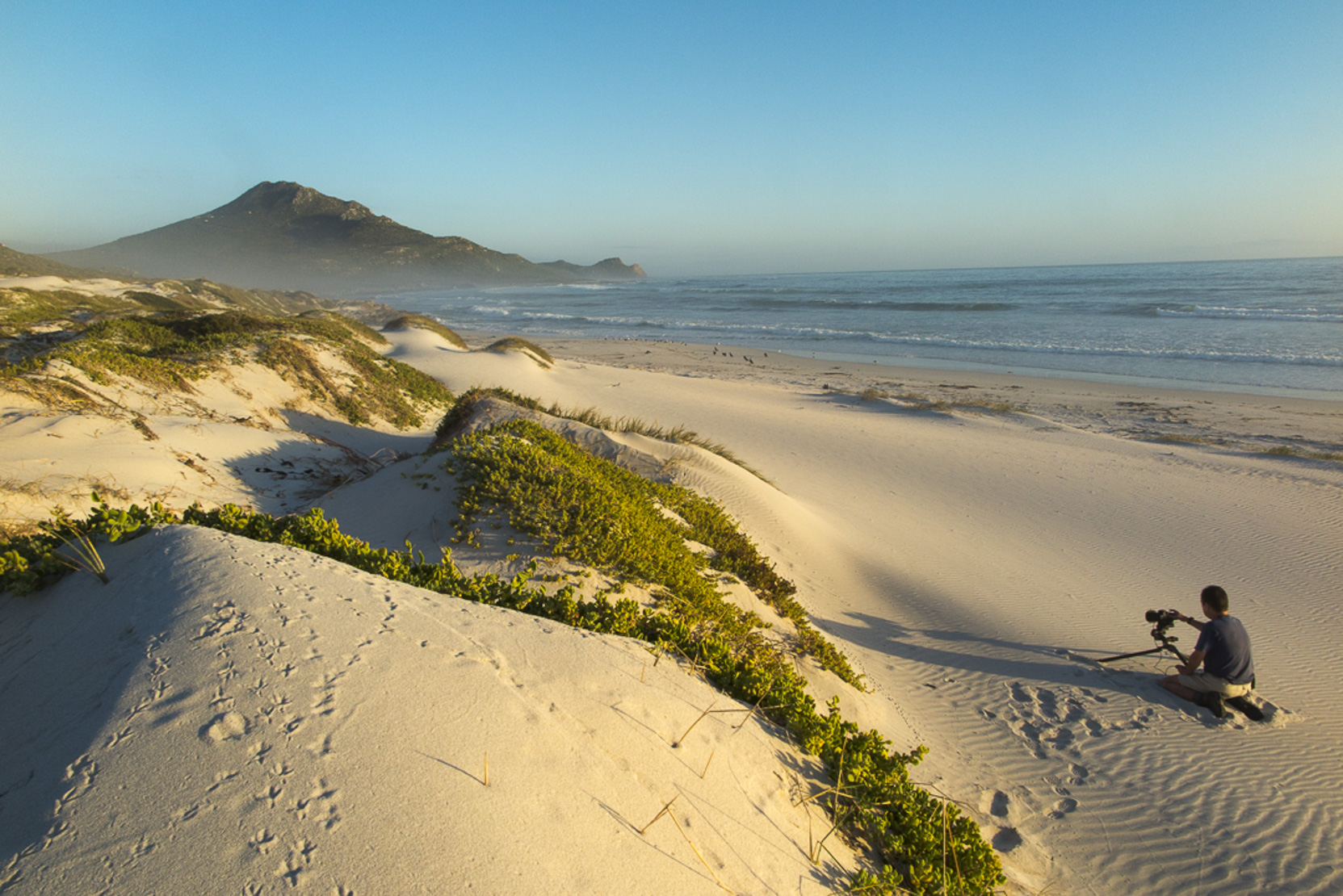 On Platboom Beach and the Cape of Good Hope, Cape Point, South Africa