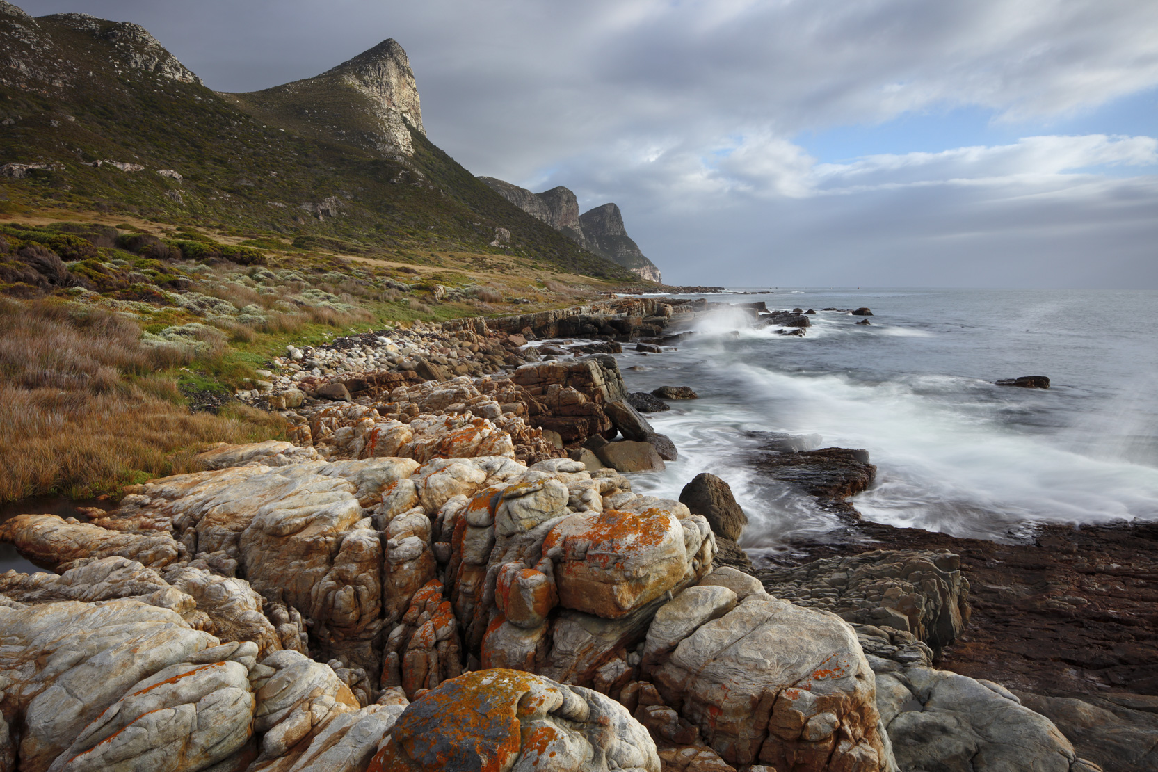The Cape of Good Hope at Black Rocks, Cape Point, South Africa