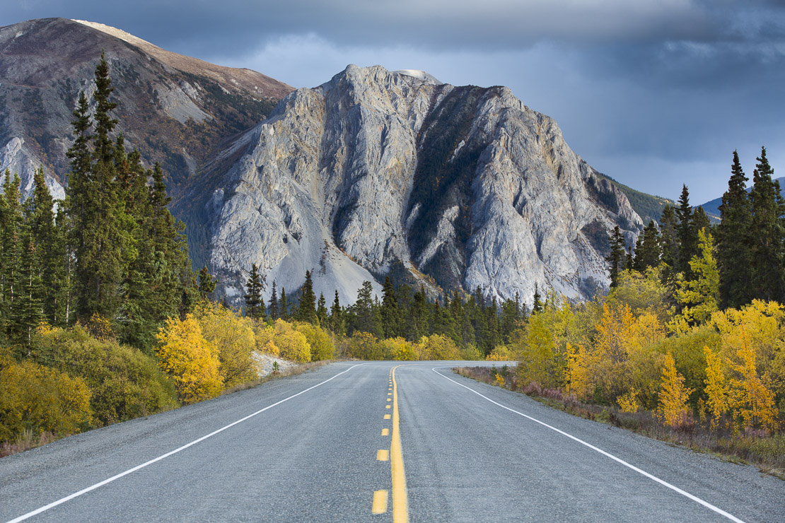 The road to Skagway, South Klondike Highway, Yukon Territories, Canada