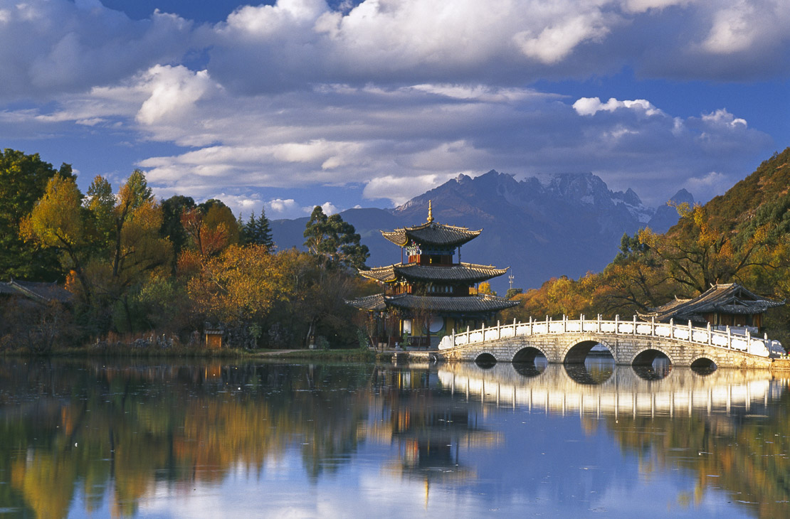 Black Dragon Pool/Jade Dragon Snow Mountain, Lijiang, Yunnan Province, China