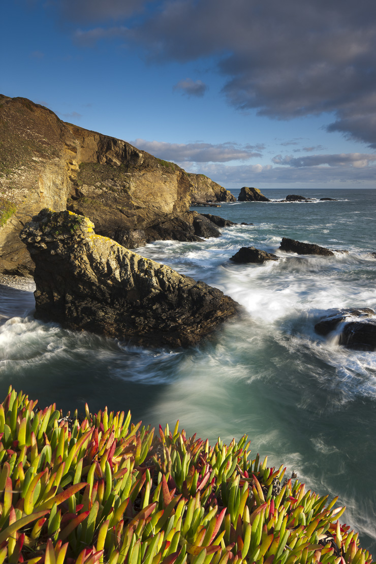 Lizard Point (the most southerly point in mainland Britain), Cornwall, England