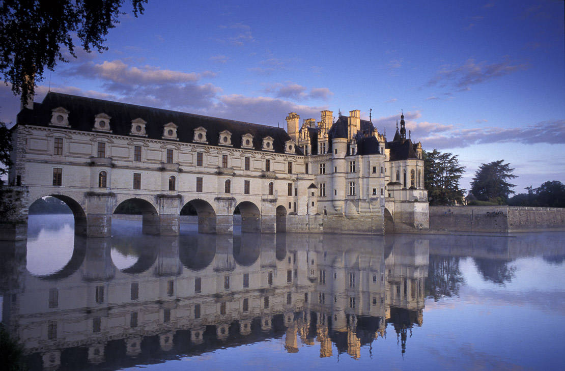 Dawn at Chateau Chennonceau, Loire Valley, France