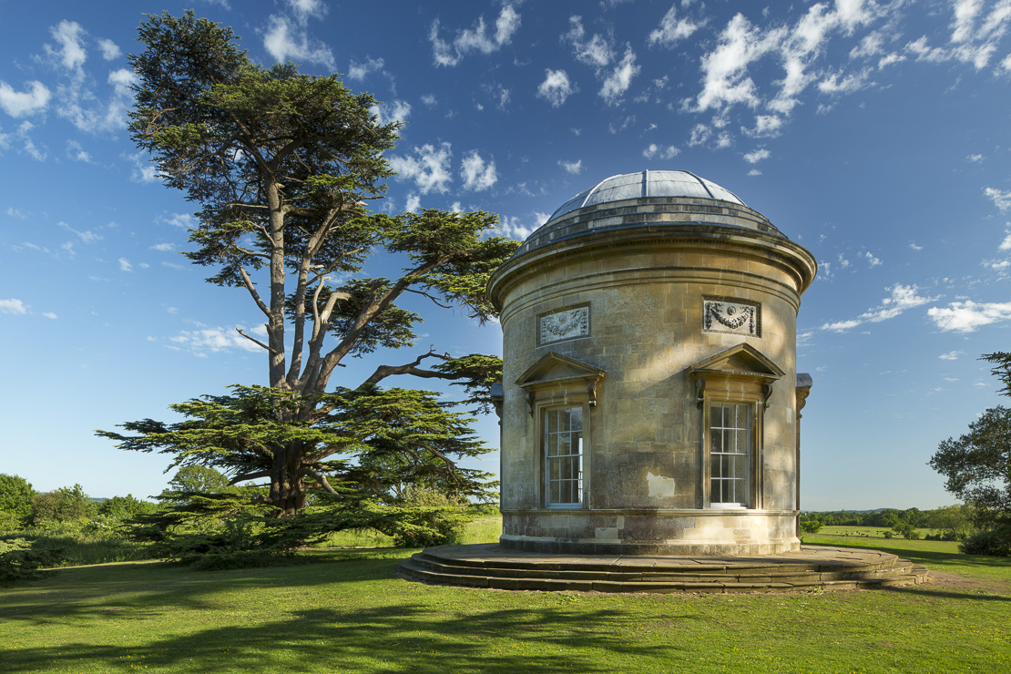 the Rotunda, Croome Park, Worcestershire, England, UK