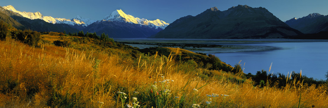 Mount Cook, Aoraki National Park, South Island, New Zealand