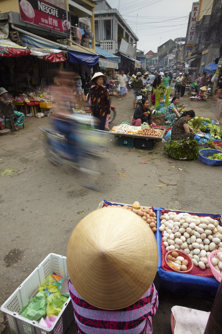 the market at Can Tho, Mekong Delta, Vietnam