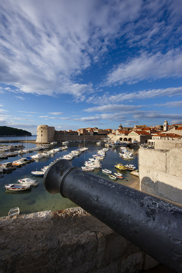 the old town and harbour, Dubrovnik, Dalmatia, Croatia