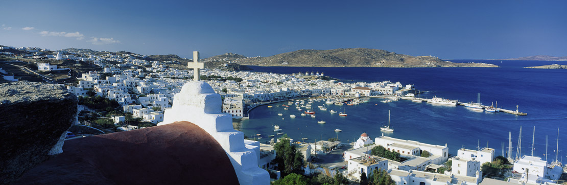 The Harbour, Mykonos, Cyclades Islands, Greece
